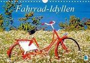 Fahrrad-Idyllen (Wandkalender 2019 DIN A4 quer)