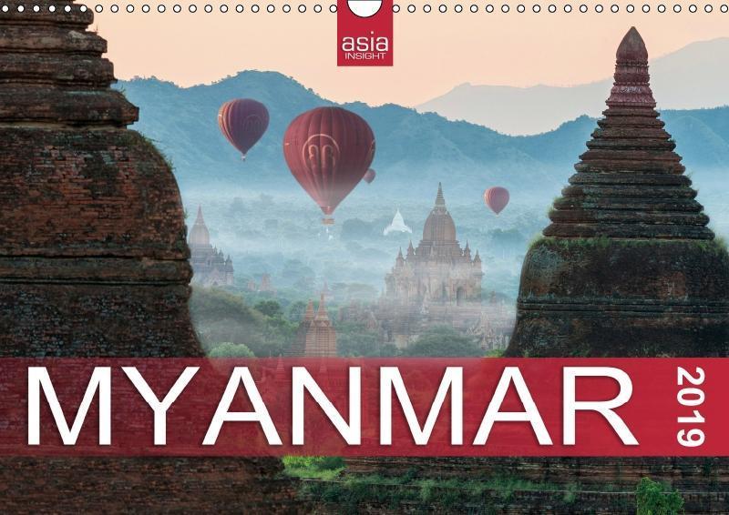 FASZINIERENDES MYANMAR (Wandkalender 2019 DIN A3 quer) als Kalender