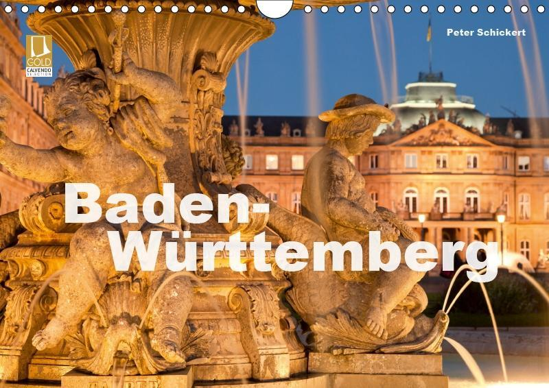 Baden-Württemberg (Wandkalender 2019 DIN A4 quer)