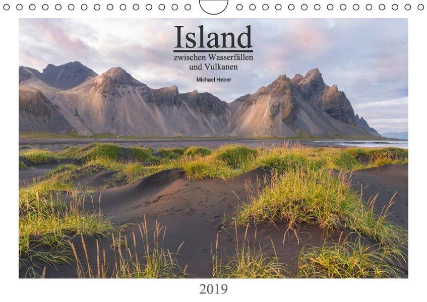 Island: zwischen Wasserfällen und Vulkanen 2019 (Wandkalender 2019 DIN A4 quer) als Kalender