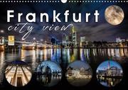 Frankfurt city view (Wandkalender 2019 DIN A3 quer)