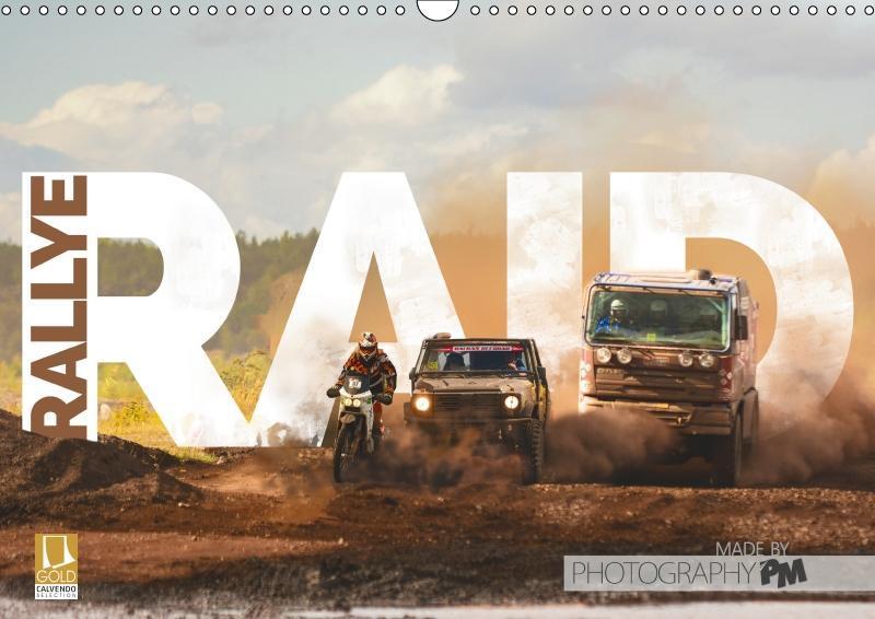 RALLYE RAID (Wandkalender 2019 DIN A3 quer)