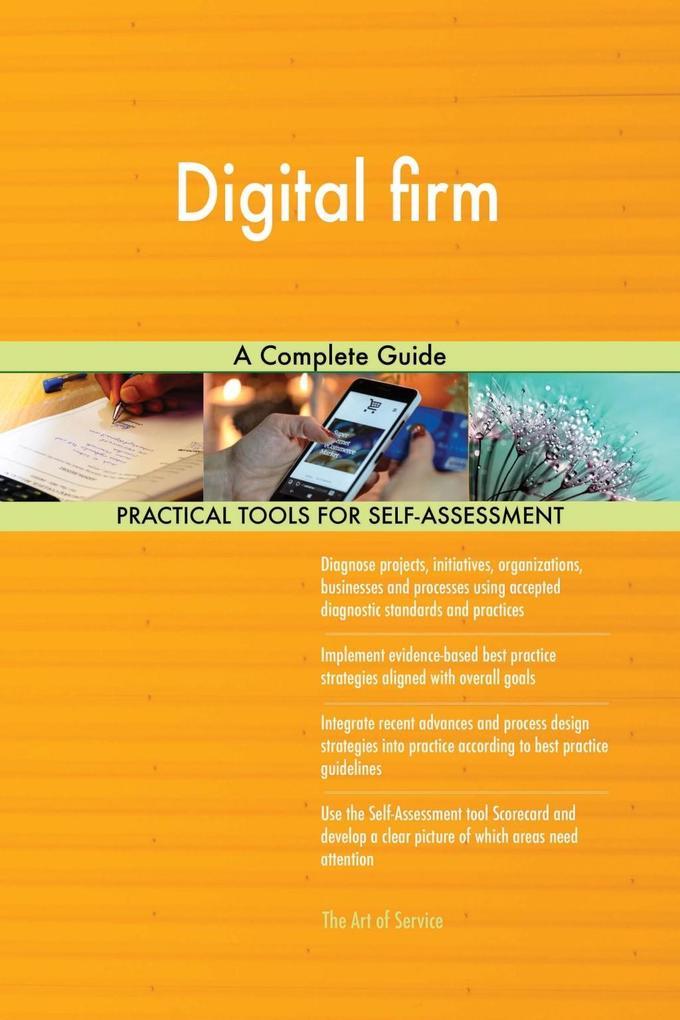 Digital firm A Complete Guide als eBook Downloa...