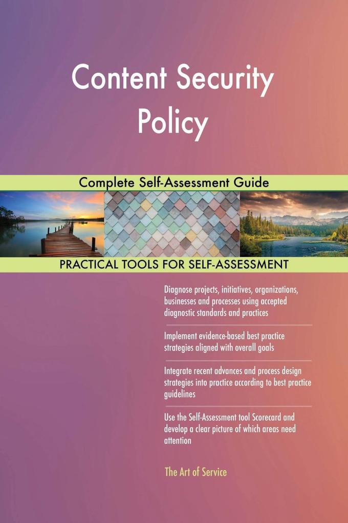 Content Security Policy Complete Self-Assessmen...