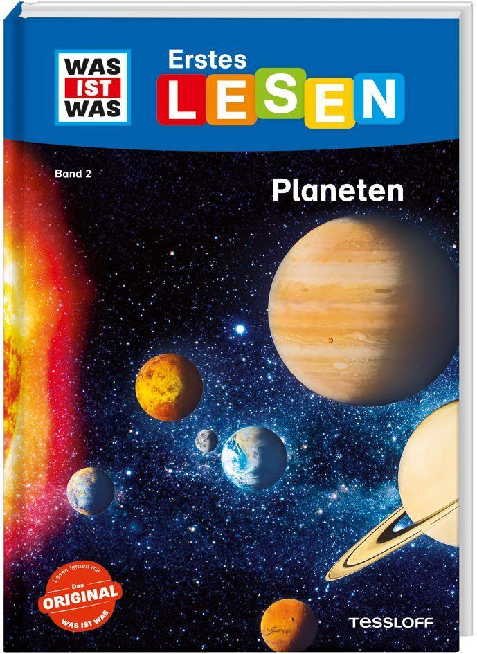 WAS IST WAS Erstes Lesen, Band 2: Planeten als Buch