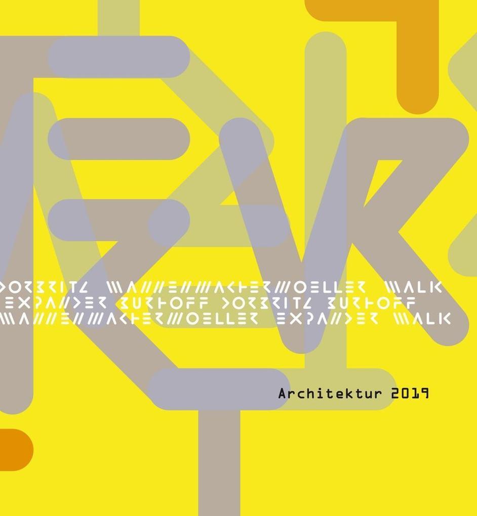 Architekturkalender 2019 als Kalender