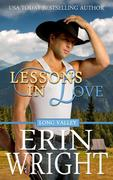 Lessons in Love - A Western Romance Novel (Long Valley Romance, #8)
