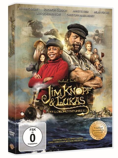 Jim Knopf & Lukas der Lokomotivführer als DVD