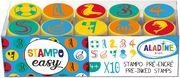 Aladine - Stampo Easy Zahlen Meereswelt