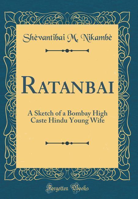Ratanbai als Buch von Shèvantibai M. Nikambè