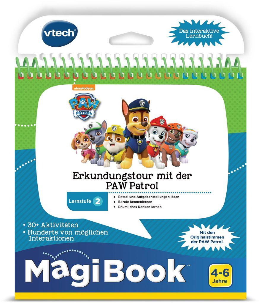 VTech - Magi Book - Lernstufe 2 - Erkundungstour mit der PAW Patrol als sonstige Artikel
