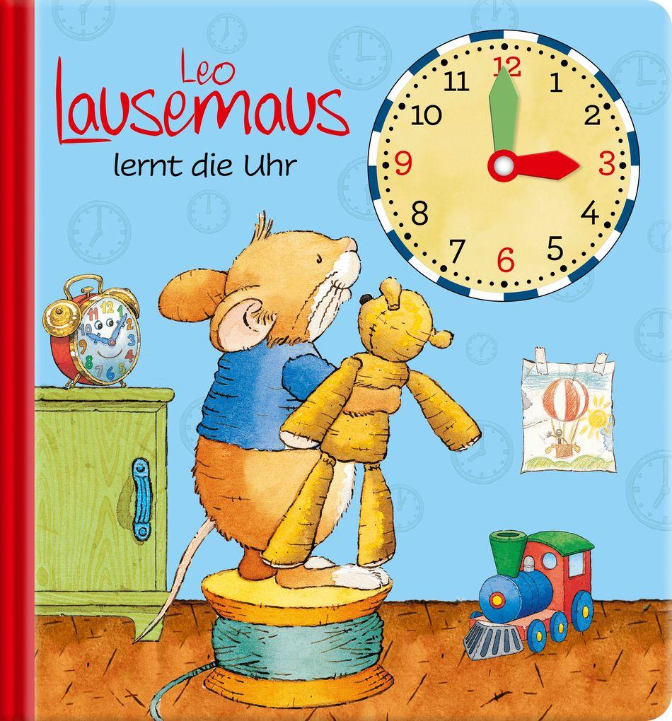 Leo Lausemaus lernt die Uhr als Buch