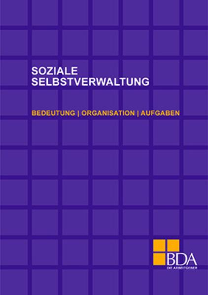 Soziale Selbstverwaltung als Buch von