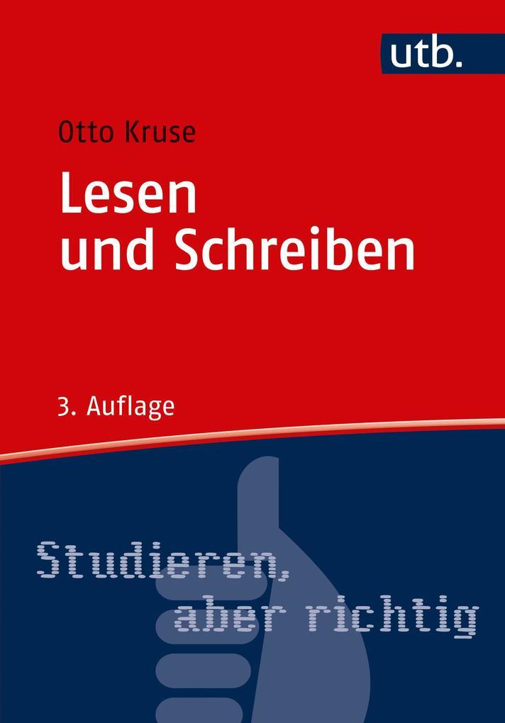 Lesen und Schreiben als Buch von Otto Kruse