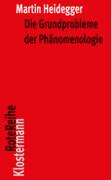 Die Grundprobleme der Phänomenologie