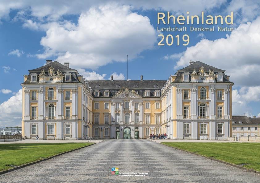 Rheinland 2019 Wandkalender A4 quer