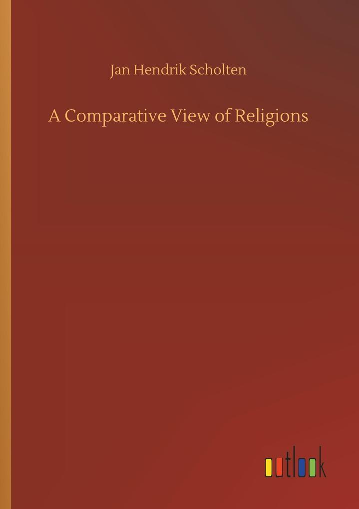 A Comparative View of Religions als Buch von Ja...