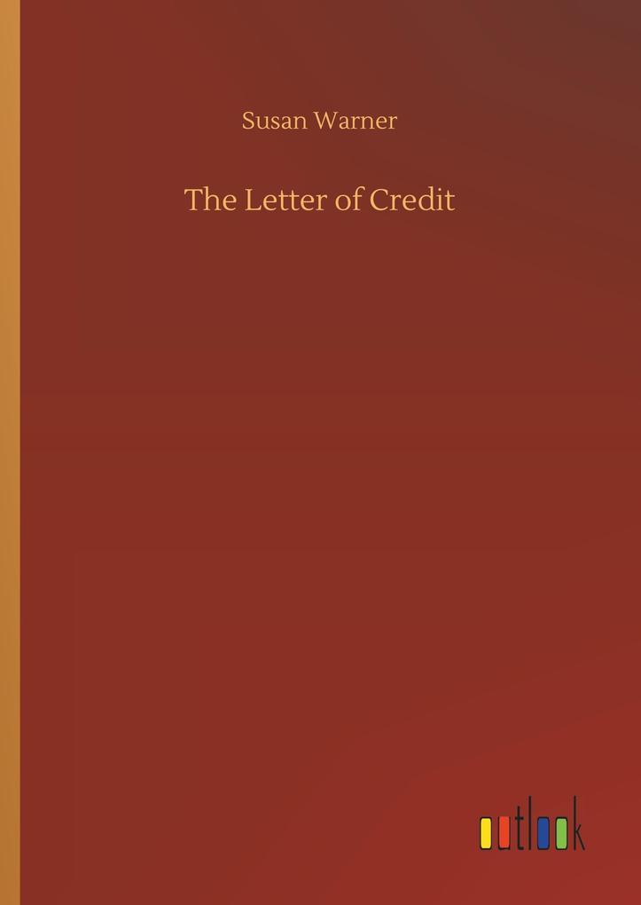 The Letter of Credit als Buch von Susan Warner