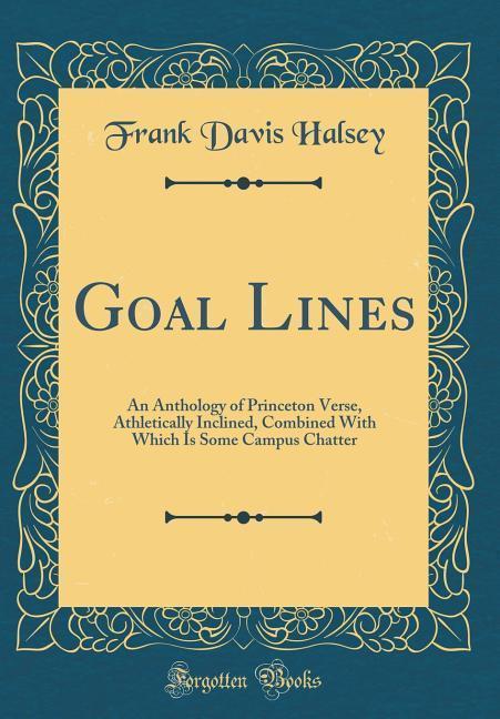 Goal Lines als Buch von Frank Davis Halsey