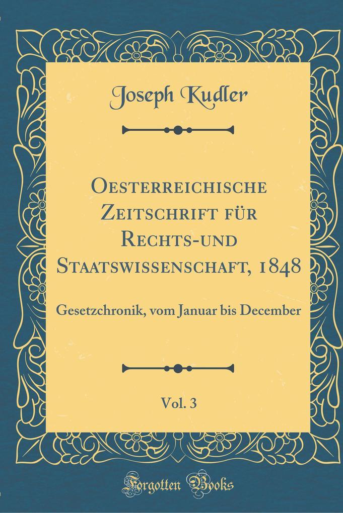 Oesterreichische Zeitschrift für Rechts-und Sta...