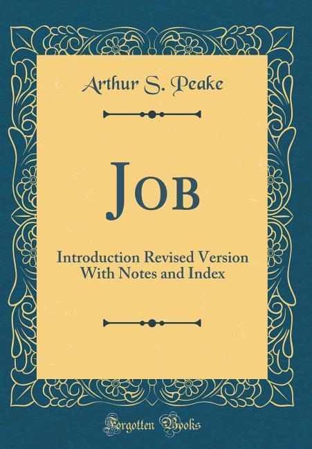 Job als Buch von Arthur S. Peake
