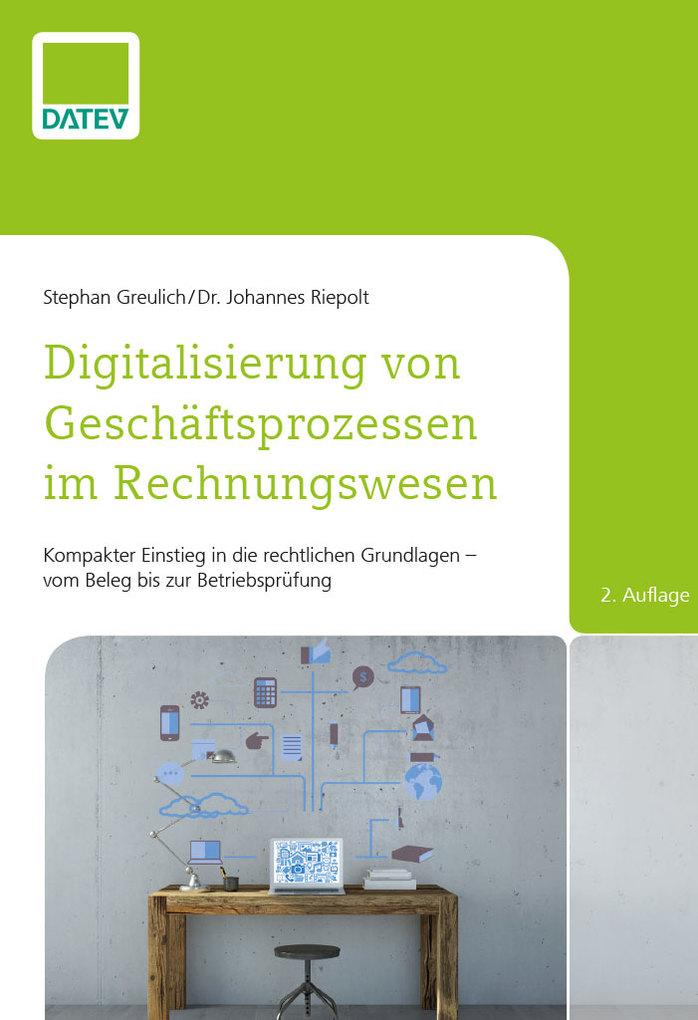 Digitalisierung von Geschäftsprozessen im Rechnungswesen, 2. Auflage als eBook
