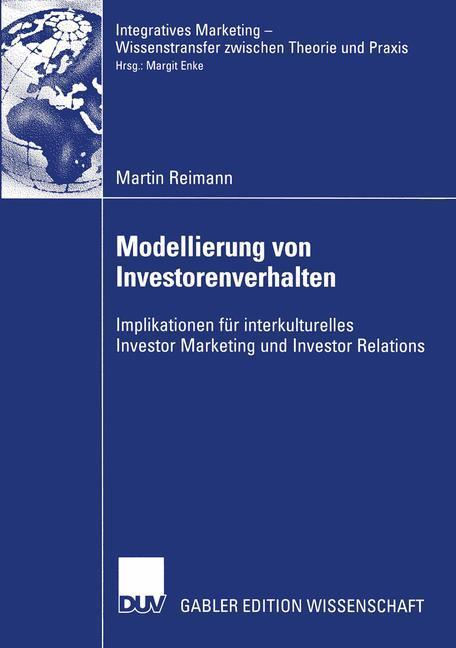 Modellierung von Investorenverhalten als Buch v...