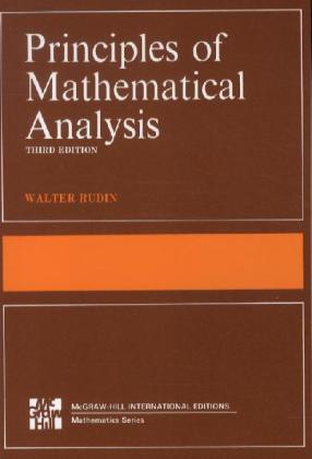 Principles of Mathematical Analysis als Buch (kartoniert)