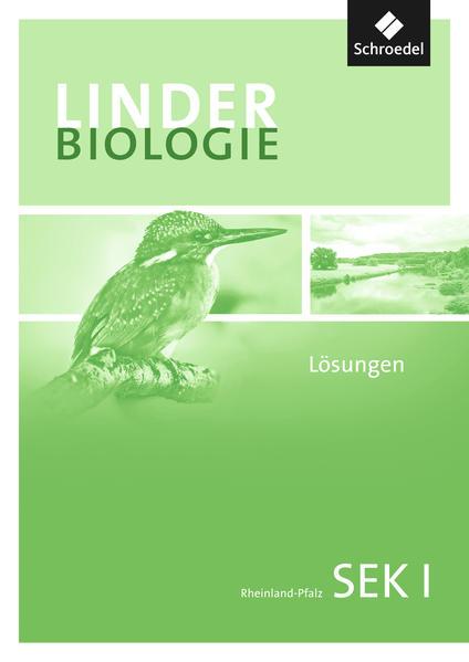 LINDER Biologie SI. Lösungen. Rheinland-Pfalz a...