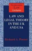 Law and Legal Theory in the UK and USA (CLL)