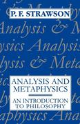 Analysis and Metaphysics: An Introduction to Philosophy