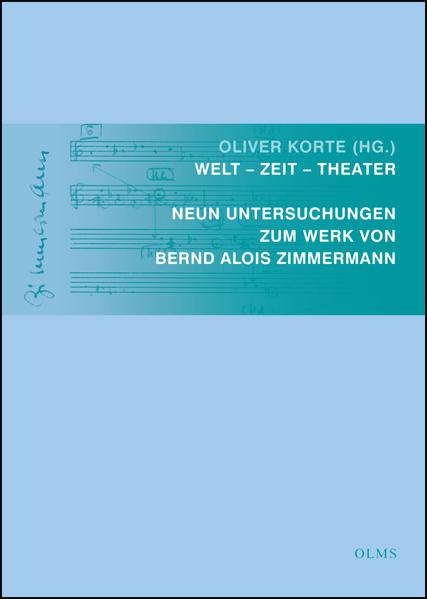 Welt - Zeit - Theater als Buch von