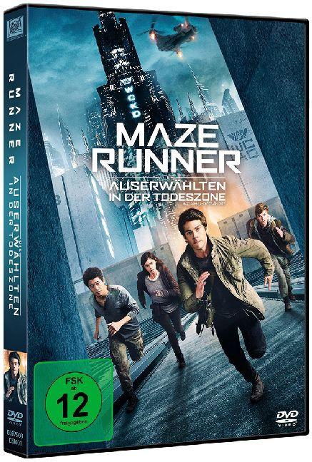 Maze Runner: Die Auserwählten in der Todeszone als DVD