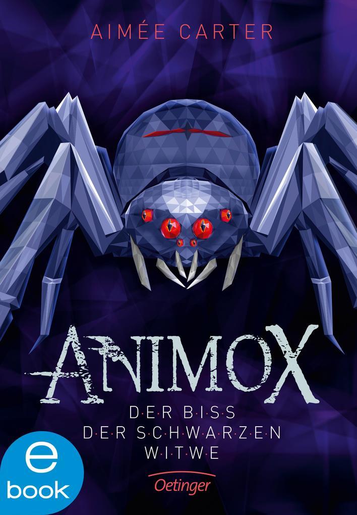 Animox. Der Biss der Schwarzen Witwe als eBook