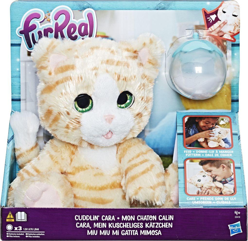 Hasbro - FurReal Cara, mein kuscheliges Kätzchen als Spielwaren
