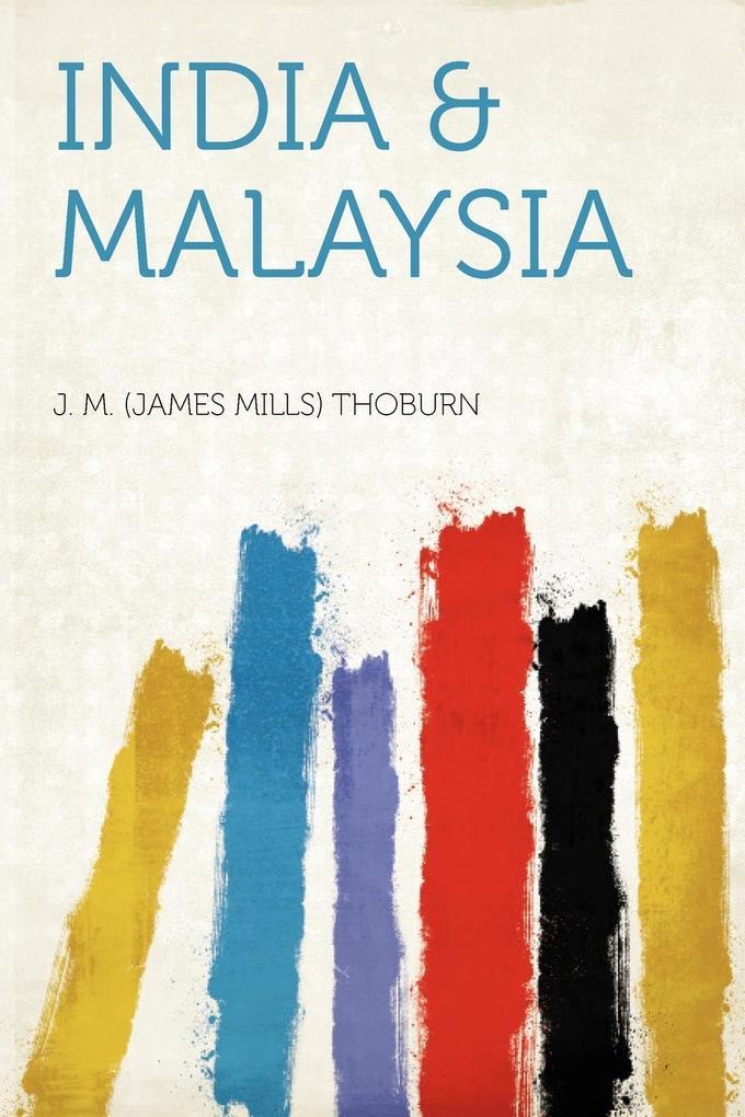 India & Malaysia als Taschenbuch von
