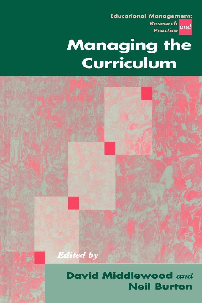Managing the Curriculum als Buch von