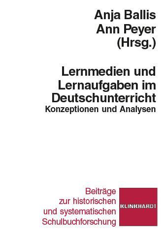 Lernmedien und Lernaufgaben im Deutschunterrich...
