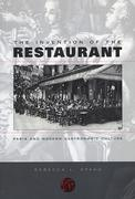 The Invention of the Restaurant
