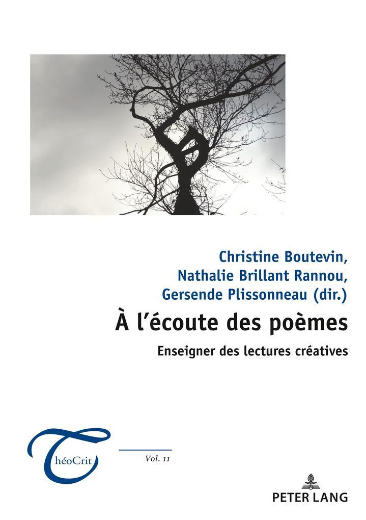 À l'écoute des poèmes : enseigner des lectures créatives als Buch (kartoniert)