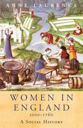 Women In England 1500-1760