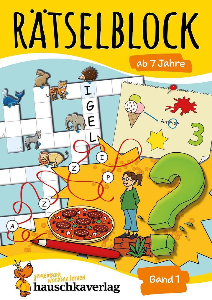 Rätselblock ab 7 Jahre, Band 1 als Buch