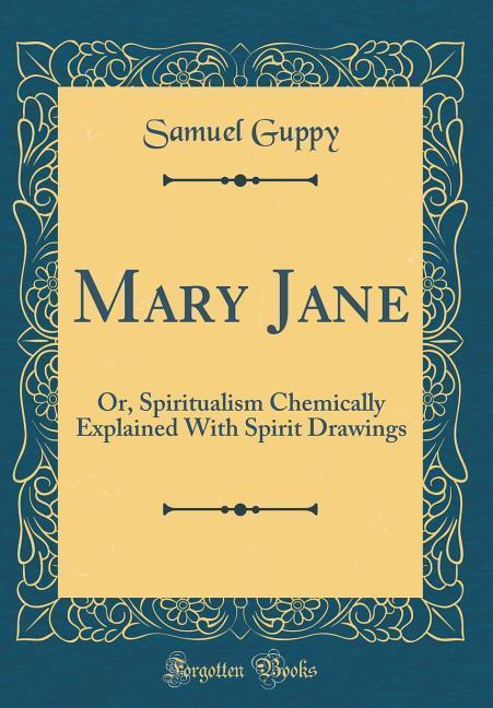Mary Jane als Buch von Samuel Guppy