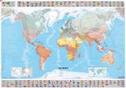 Michelin. The World - Plano Poster 1 : 28 500 000