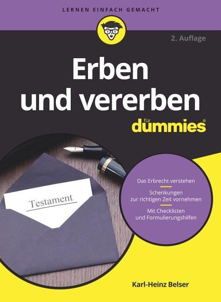 Erben und vererben für Dummies als Buch