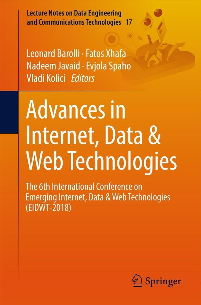 Advances in Internet, Data & Web Technologies a...