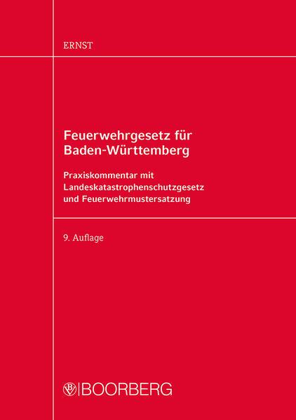 Feuerwehrgesetz für Baden-Württemberg als Buch ...