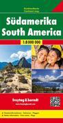Südamerika, Kontinentkarte 1:8 000 000