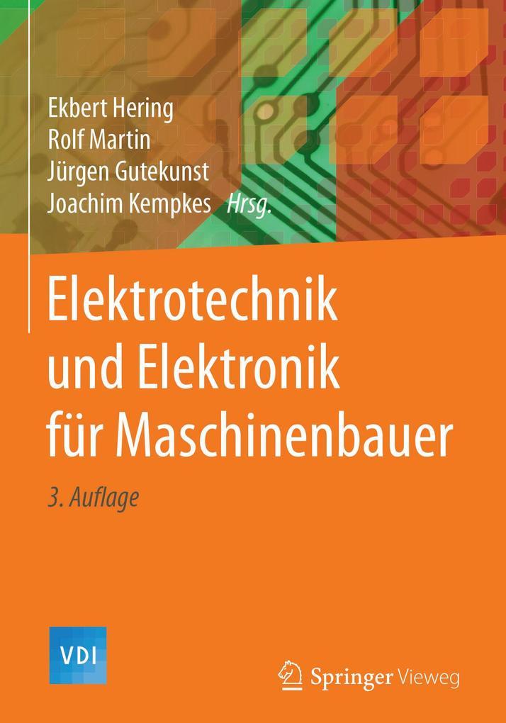 Elektrotechnik und Elektronik für Maschinenbaue...