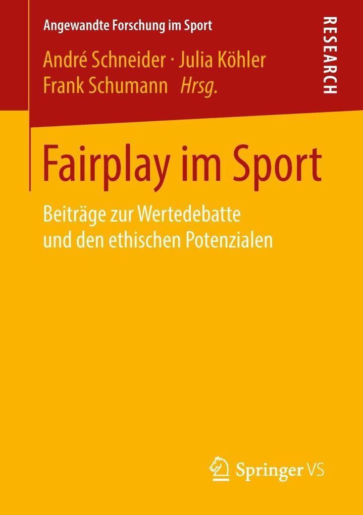 Fairplay im Sport als eBook Download von